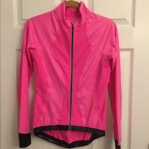 Lululemon Hot Pink & Black Windbreaker
